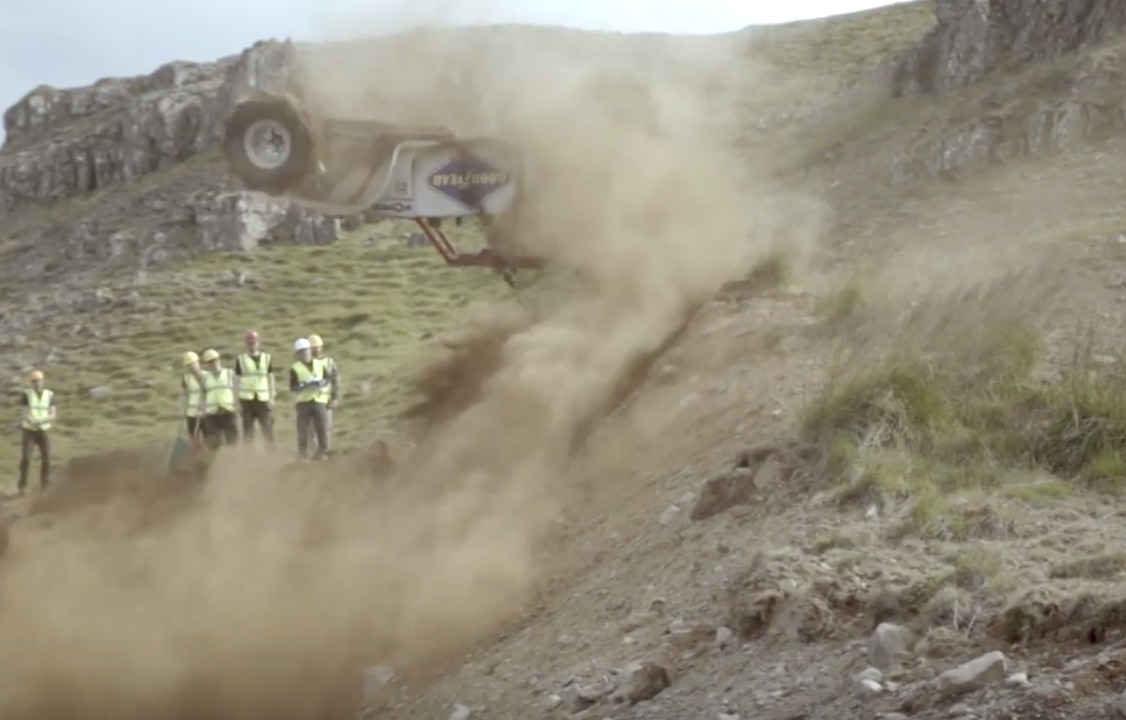Flipped Off: A Double Backflip During Formula Offroad Competition!