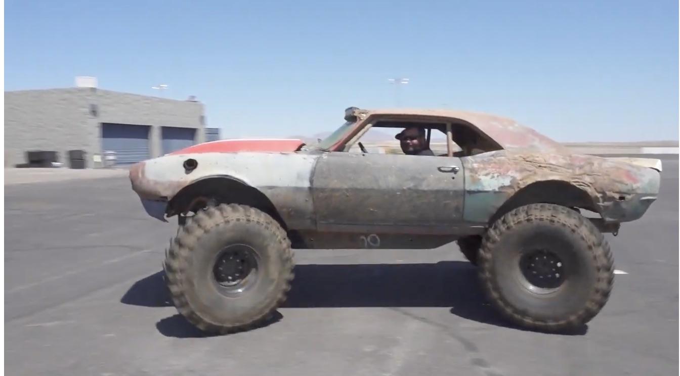 "The ""WTF?!"" Files: A Violent Mud-Bogging Camaro/HMMWV Hybrid"