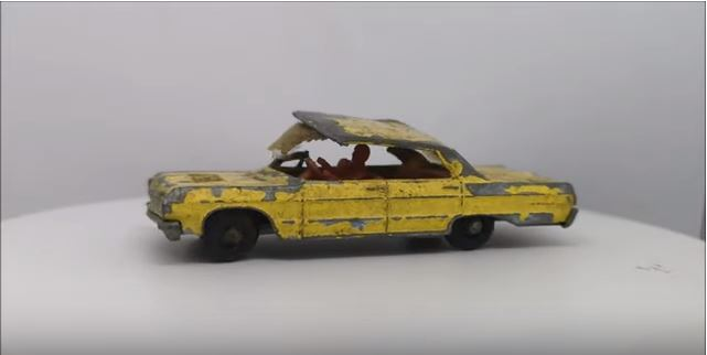 Deep Fix: Can This Absolutely Battered Matchbox Impala Be Restored?
