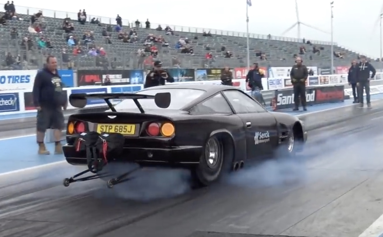Your Timeslip, 007: Take An In-Depth Look At That Street-Legal Aston Martin Drag Car!