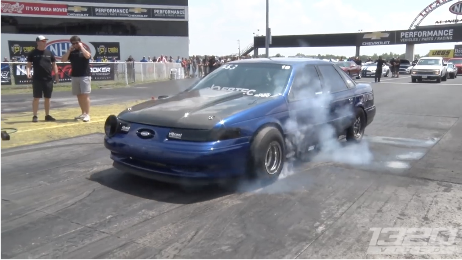 Nine-Second Taurus: The Blue Turd Just Keeps Getting Faster And Faster!
