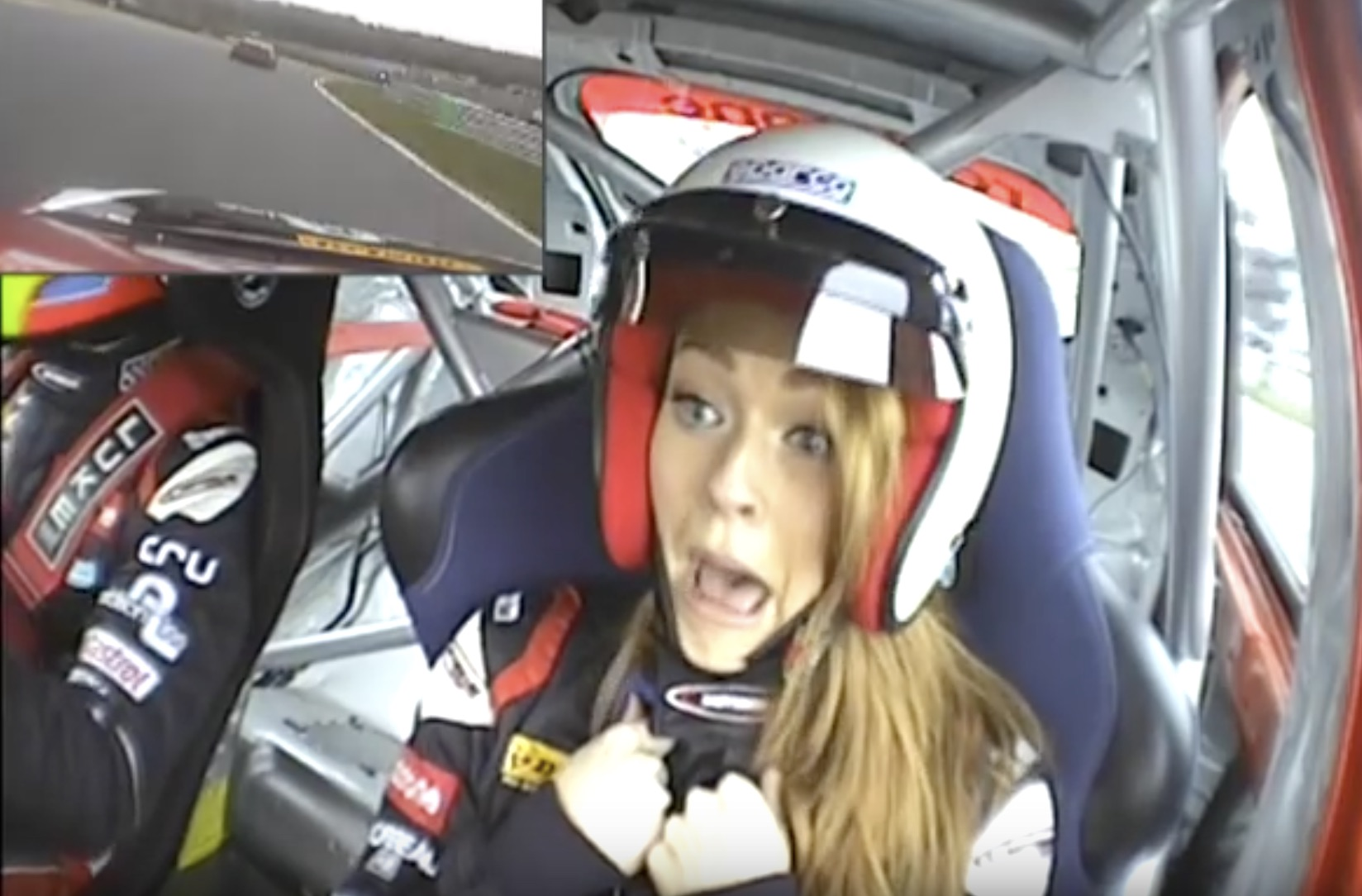 Classic YouTube: The Many Faces Of The Significant Other On A Ride-Along!