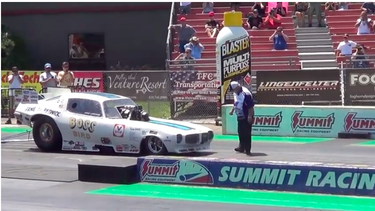 First to 250: Watch The Pontiac Powered Boss Bird Nitro Funny Car Run 5.87/250mph at Norwalk!