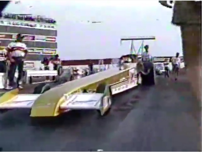 Classic NHRA Video: Part Three of Four Featuring Semi-Finals Action At The 1989 US Nationals – Cackling Fury!