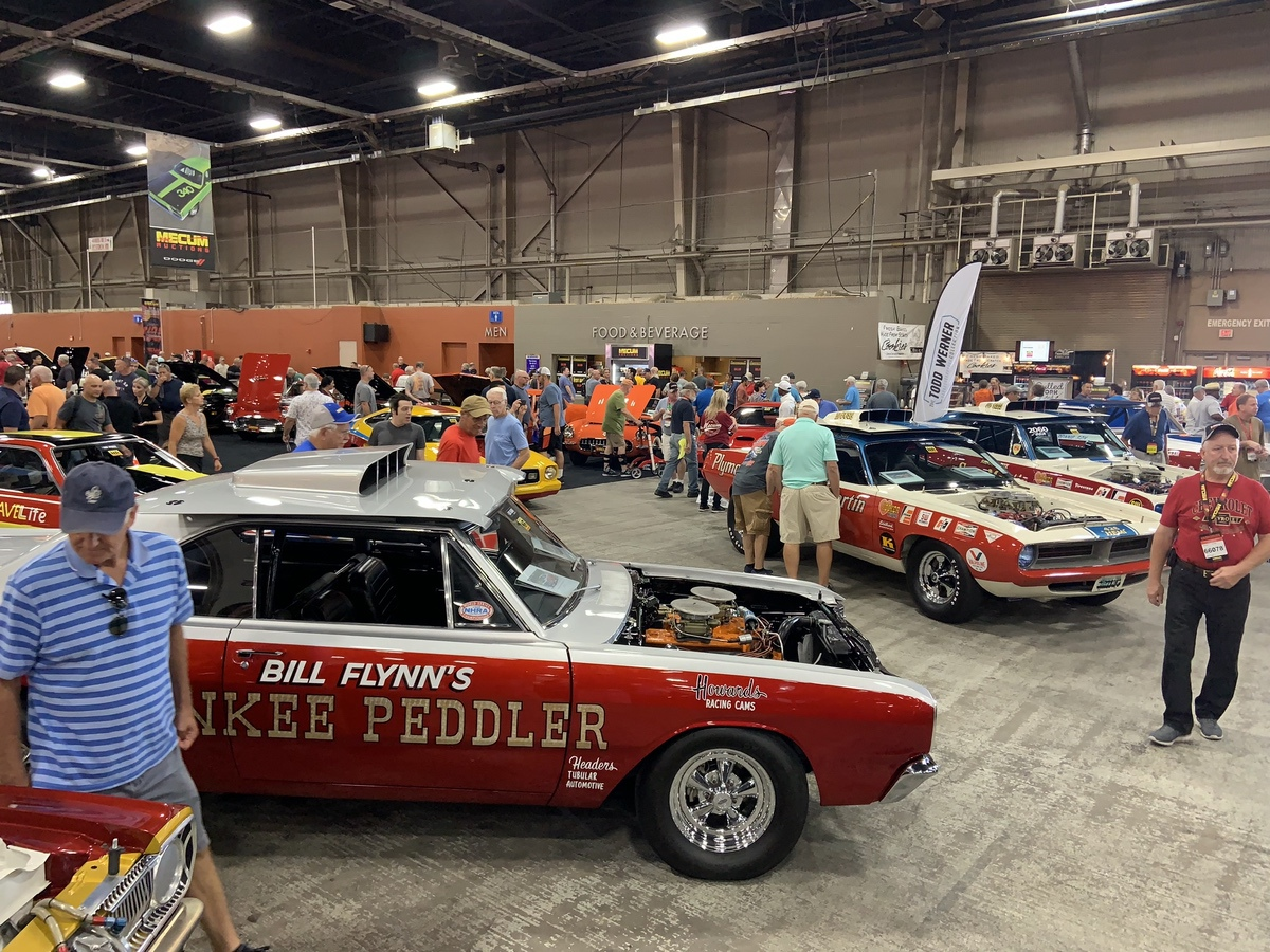 2019 Mecum Harrisburg Coverage: The Incredible Todd Werner Collection – Race and Muscle Cars 1