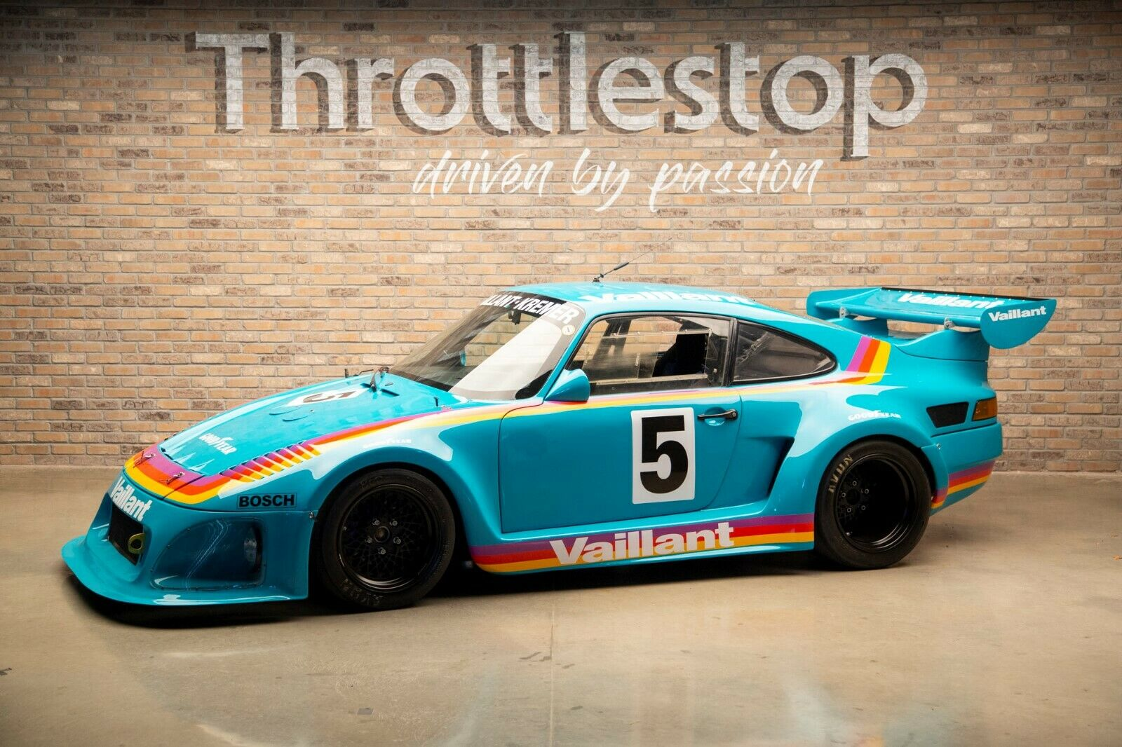 Beautiful Monster: This Specially Built 1976 Porsche 935 Has A Factory Built 806hp Twin Turbo Engine