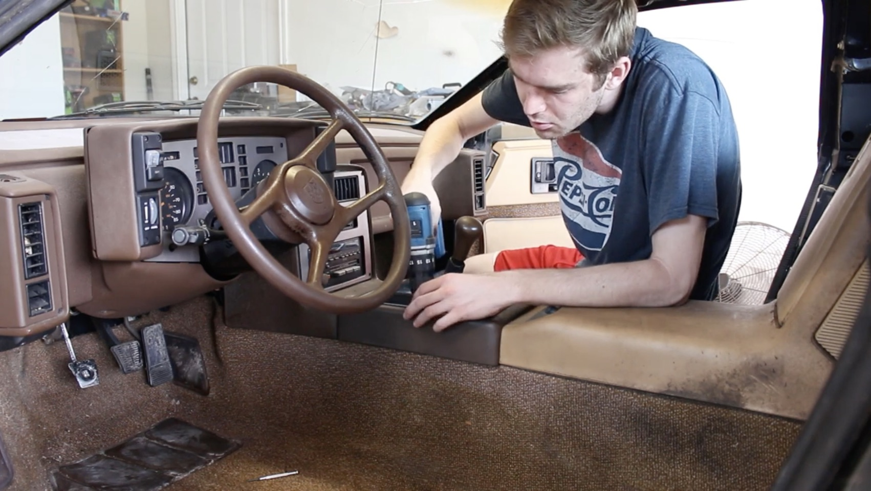 The Fiero Revival: Getting The Interior Gleaming After Years Of Being Grimy