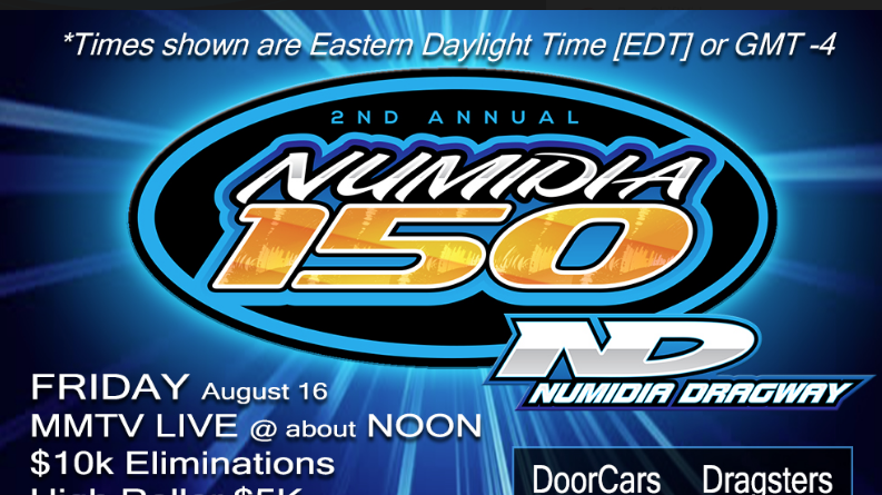 LIVE $20,000 To Win Bracket Racing From The Numidia 150 In Pennsylvania! LIVE