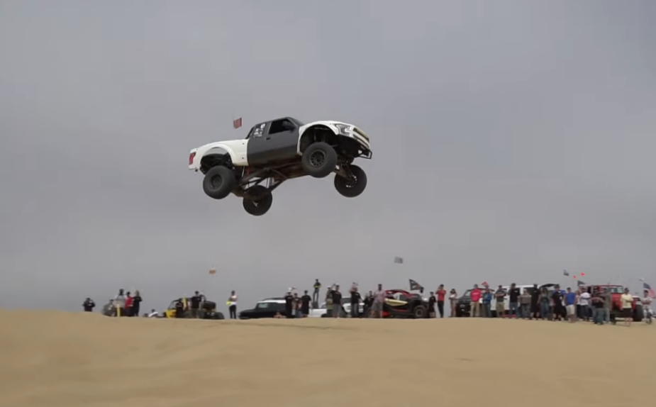 SEND IT: High Flying Sand Dunes Jumping Trucks Take Over Pismo Beach! Watch This!