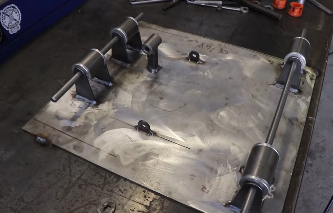 Here's How You Make A Jig At Home To Build Your Own Tubular Control Arms: Make Stuff And Make It Cool!