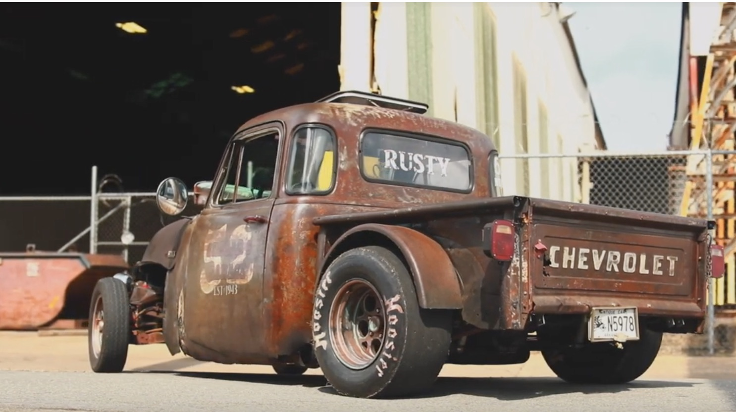 The Pile Of Parts: It's A Chevy Truck With Big-Boy Power And A List Of Donor Vehicles A Mile Long