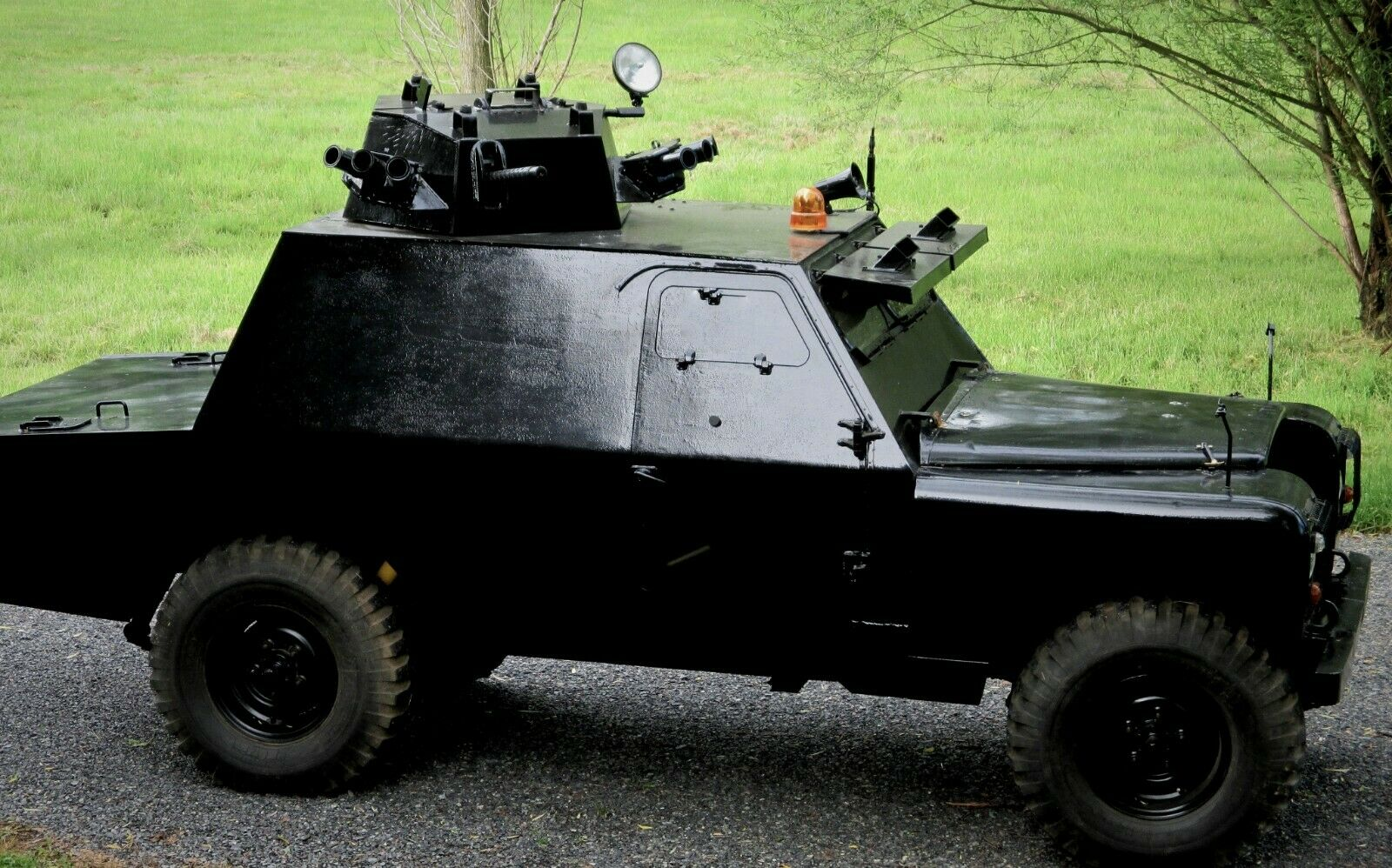 Neighborhood Trouble Stopper: This 1973 Shorland Mk3 Armored Patrol Car Probably Has Some Stories
