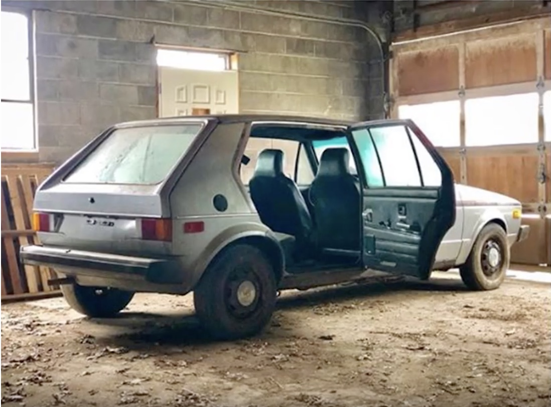 Down The Rabbit Hole: The Lost Volkswagen/Checker Taxi Prototype Has Resurfaced!