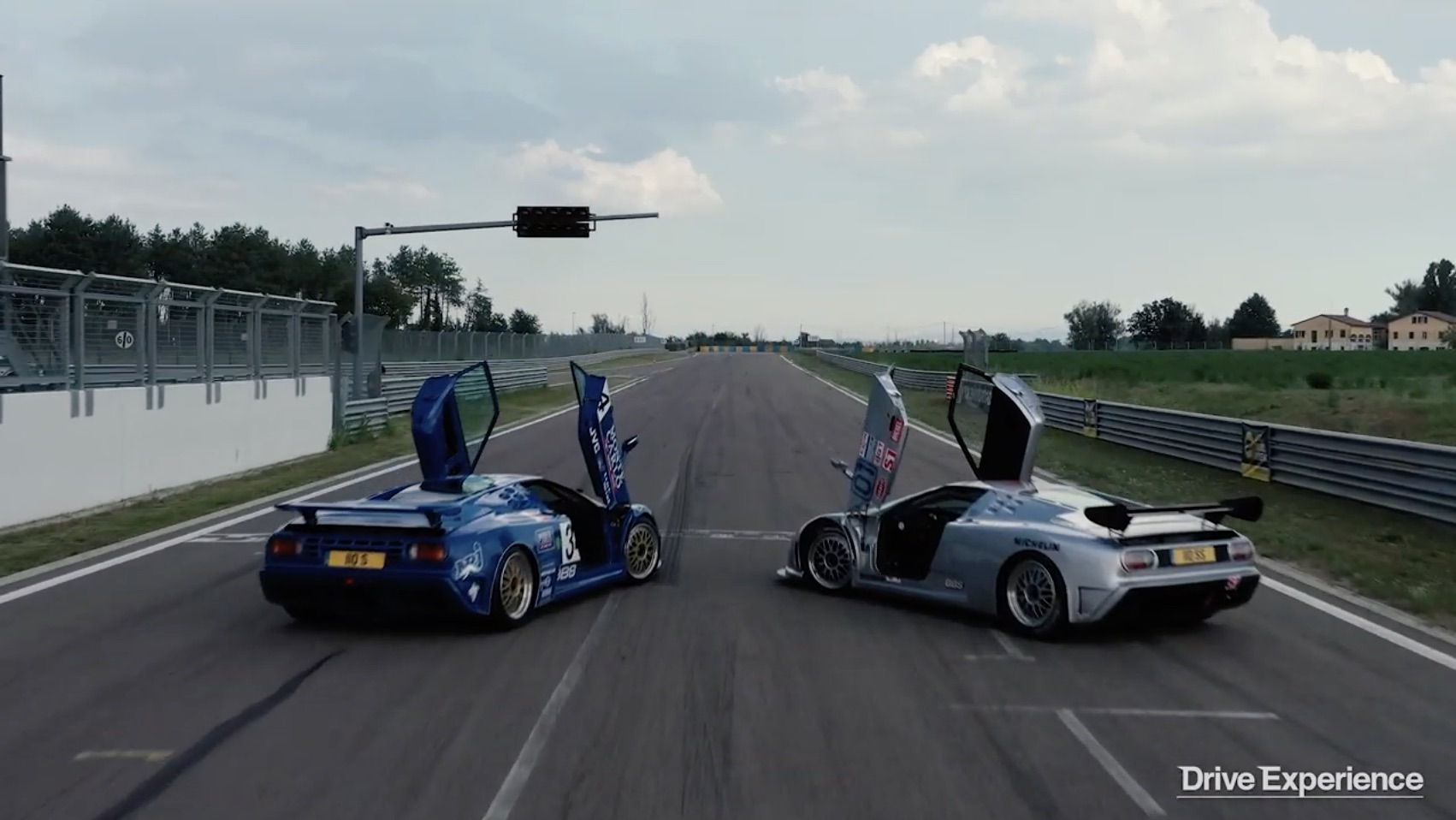 Morning Symphony: Bugatti EB110 SS LeMans and IMSA Racers – Stretching The Legs Of Giants