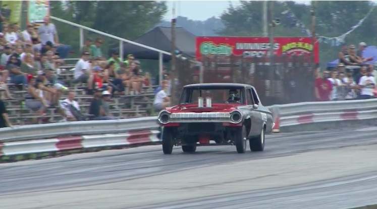 Art Imitating Life: When The Drag Strip Illustrates A Real Life Situation Hilariously