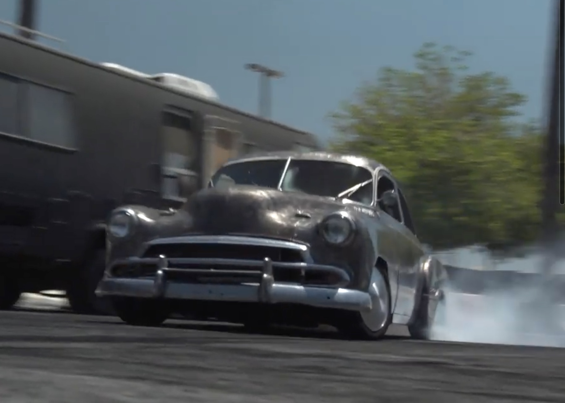 Devil In Disguise: This 1951 Chevrolet Is A Lexus LS400…And It's Built To Drift