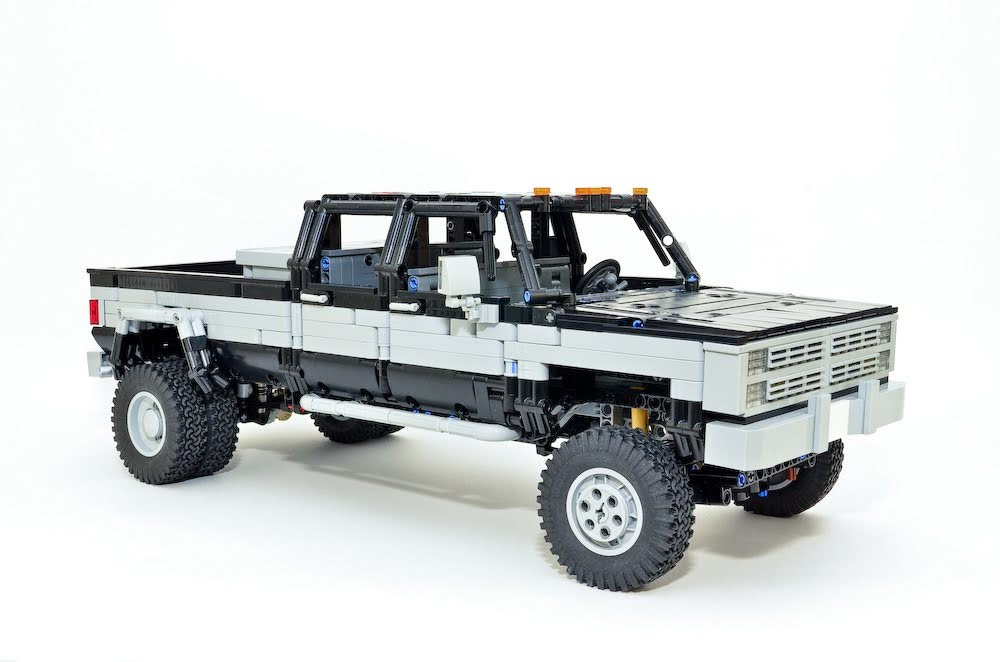 Crazy Skills: Check Out This Guy's Sick Lego Builds – One Off GM Dually Truck, Jeeps, Hot Rods, More!