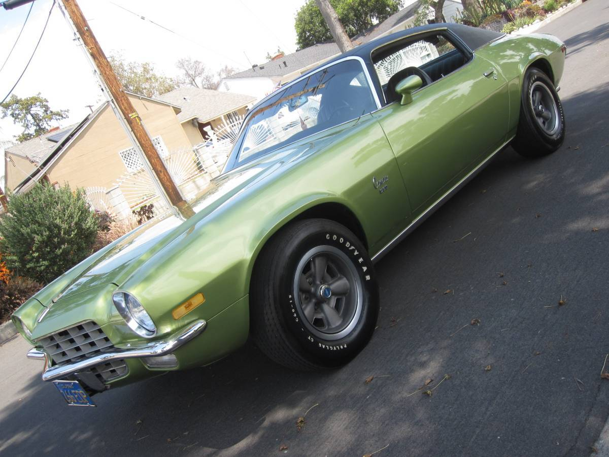 This One Owner, Barn Find, 1972 Camaro Is In Near Pristine Condition And It Could Be Yours!