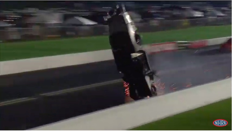 Video: Watch Chad Green's Horrendous Ride At The 2019 Chevrolet Performance US Nationals