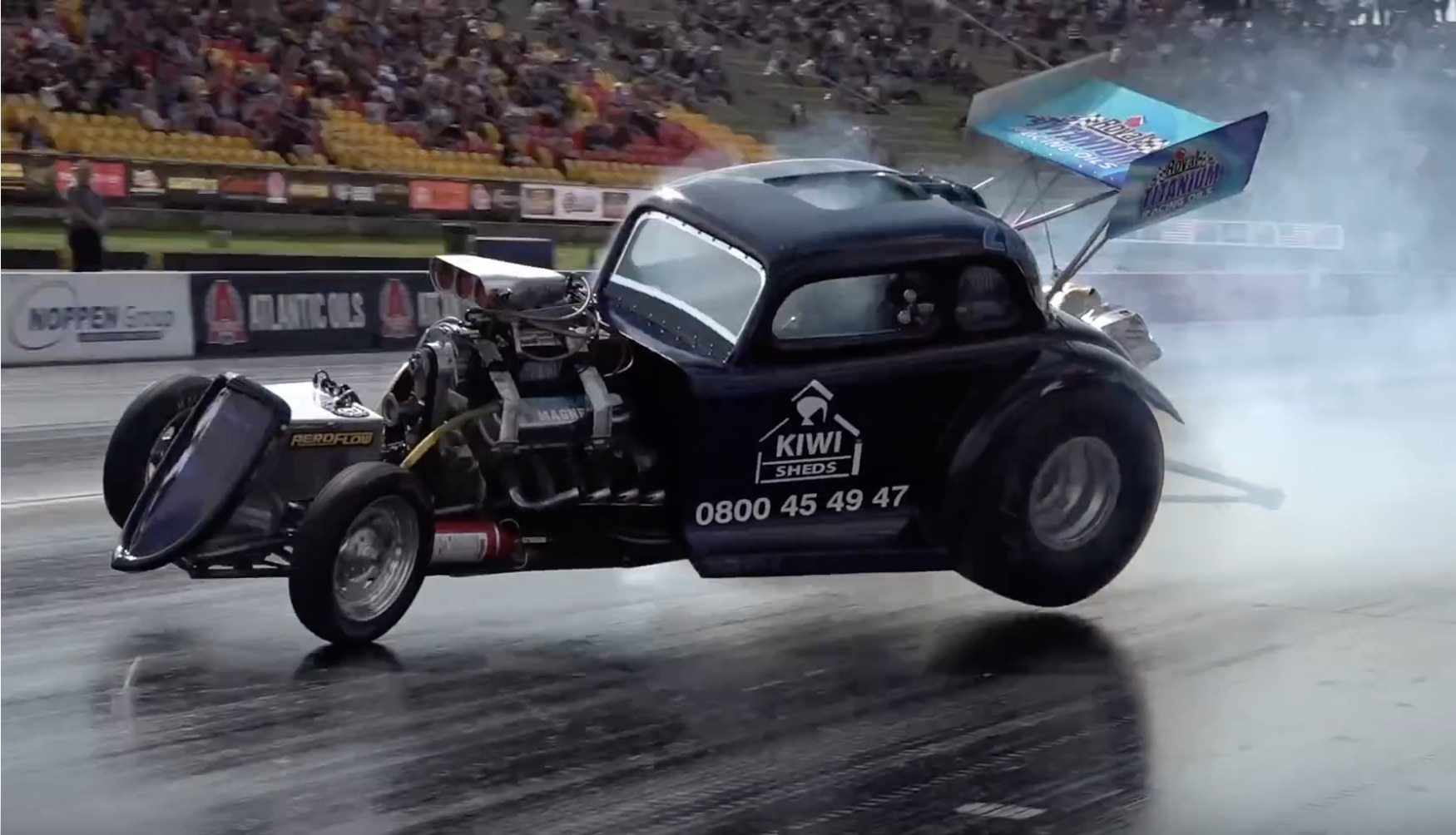 Morning Symphony: All Of The Fun Of Fuel Altereds At Sydney Dragway – We Want More!