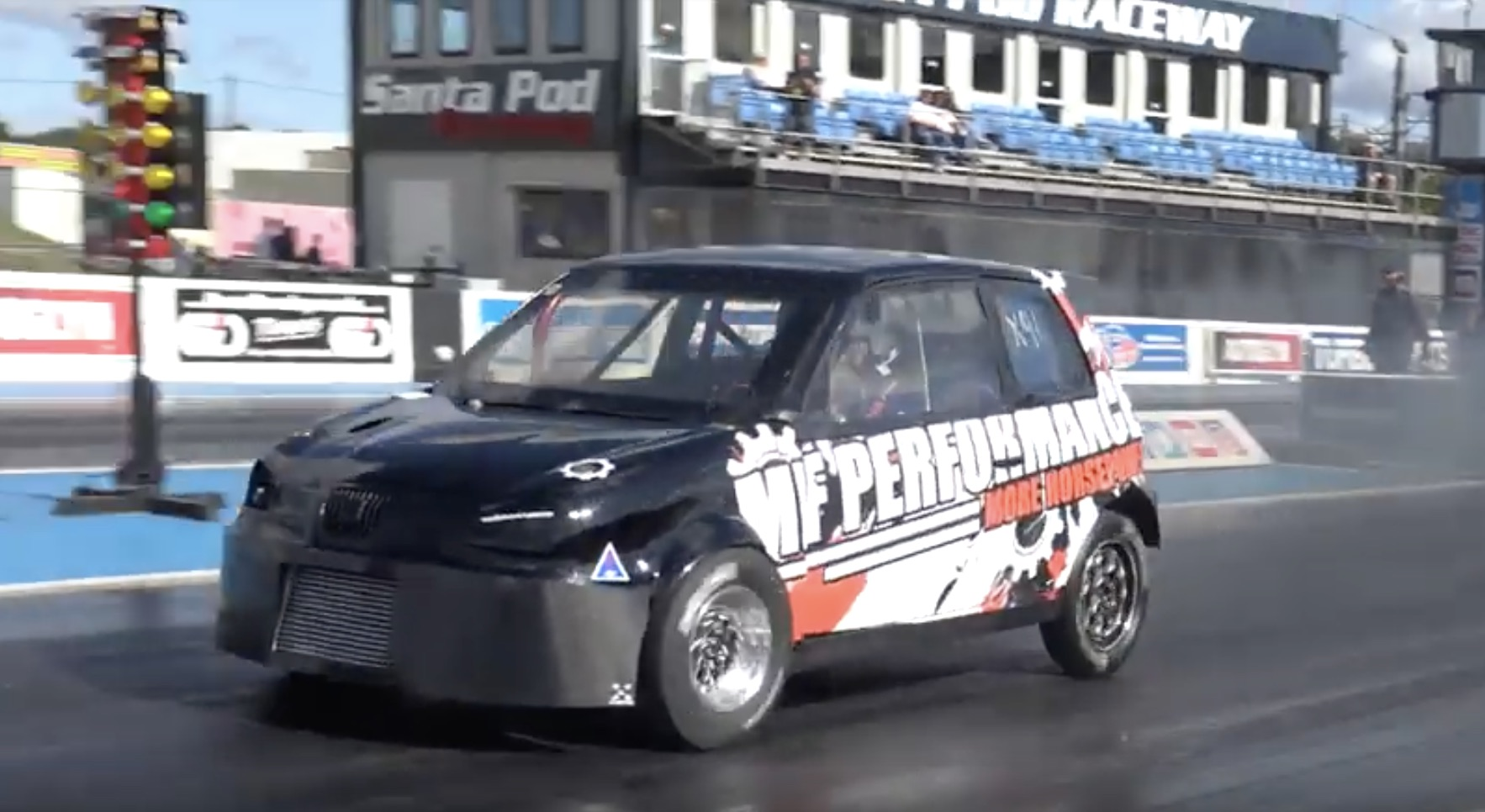 Small But Mighty: This 550-horse Seat Arosa Runs VW TDI Power!