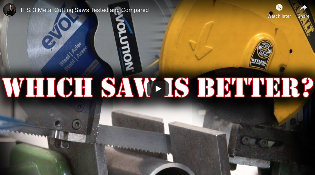 Dry Cut Chop Saw, Abrasive Chop Saw, Or Metal Cutting Band Saw? Which One Is Really The Best For Your Shop?