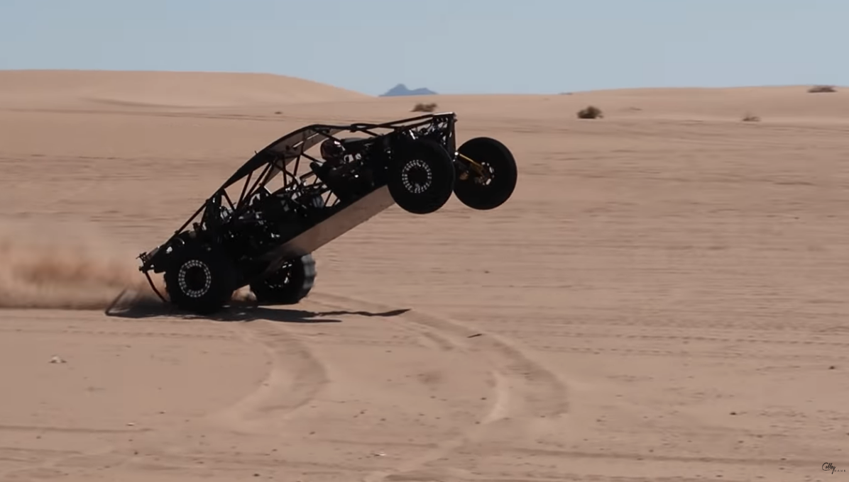 We're Pretty Sure That Testing 1000 Horsepower FUNCO Sand Cars Is Our Dream Job