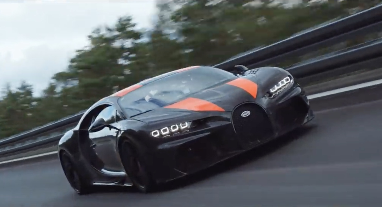 304.77 Miles Per Hour: Watch As A Modified Bugatti Chiron Lays Down The Number!