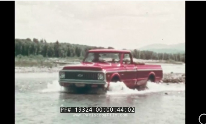 This Is Awesome: This 1972 Chevrolet Truck vs Ford Truck Film Is Wacky, Destructive, and Perfect