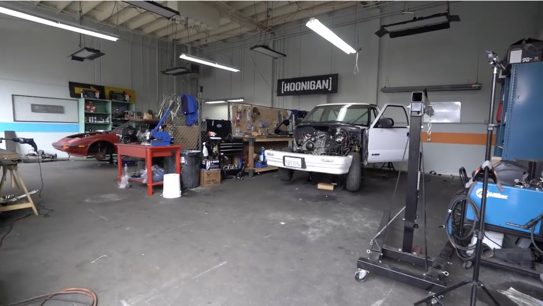 Hoonigan's Build & Battle 2: The LS S-10 And First-Gen RX-7 Are Shaping Up!