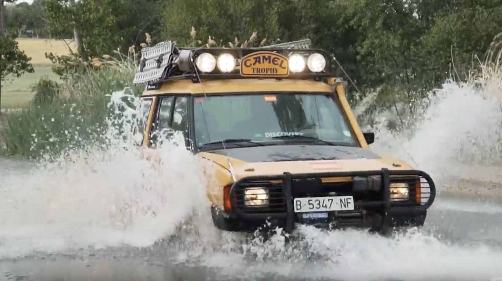 The Beauty In Brutality: The Story Of A Surviving Land Rover Discovery That Ran Camel Trophy