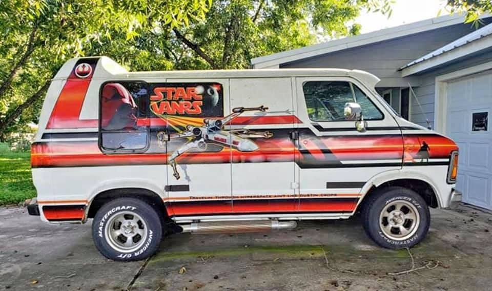 You Came In That Thing? This Star Wars-Themed 1979 Dodge Van Is The Ultimate Fan Ride!
