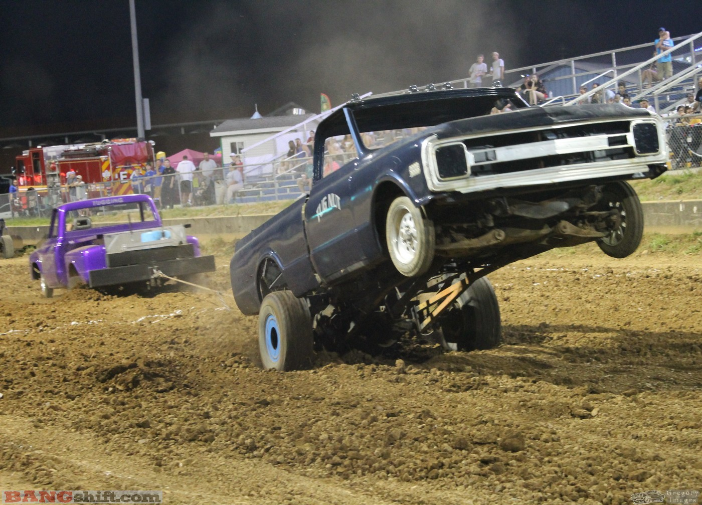 Tuggers! Check Out These Photos Featuring Tug Of War Trucks From The Scott County Fair In Kentucky