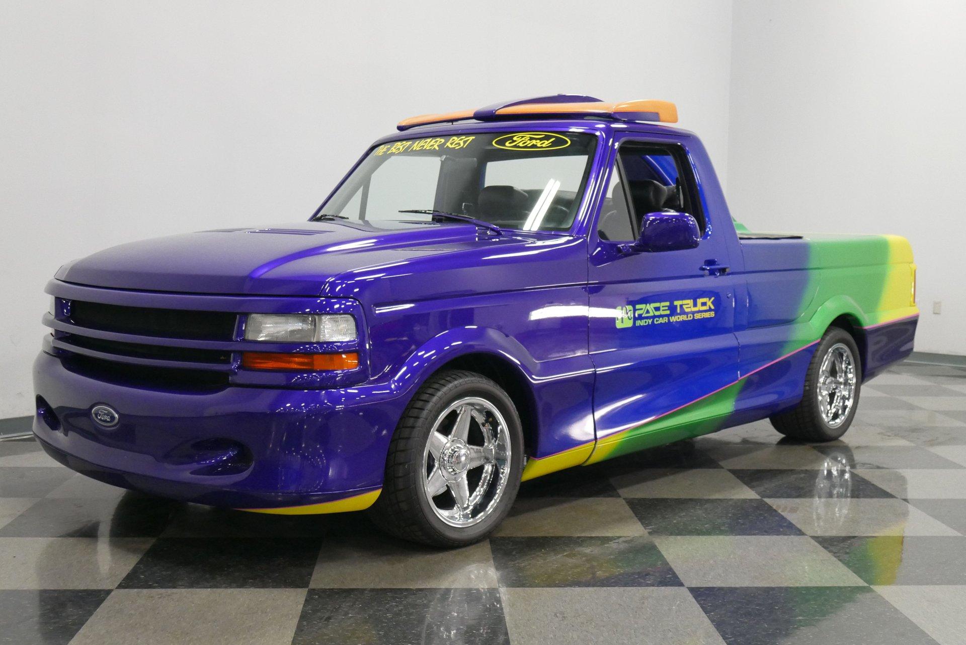 "The ""WTF?!"" Files: You Could See The 1991 Ford F-150 PPG Pace Truck From Space"