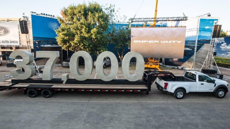 Ford Announces 37,500 lb Towing Capacity For 2020 Ford Super Duty! It Can Haul And Tow More Than Anything Else