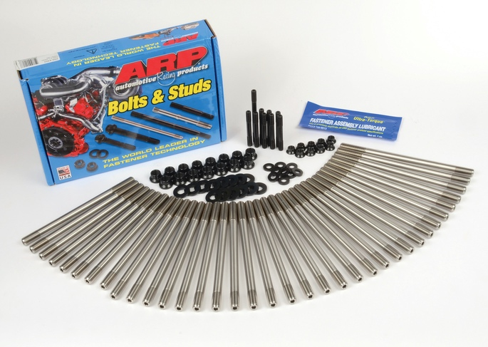 Keep Yer Head On: ARP® Introduces Head Std Kit For Highly Boosted 6.7L Powerstroke V8