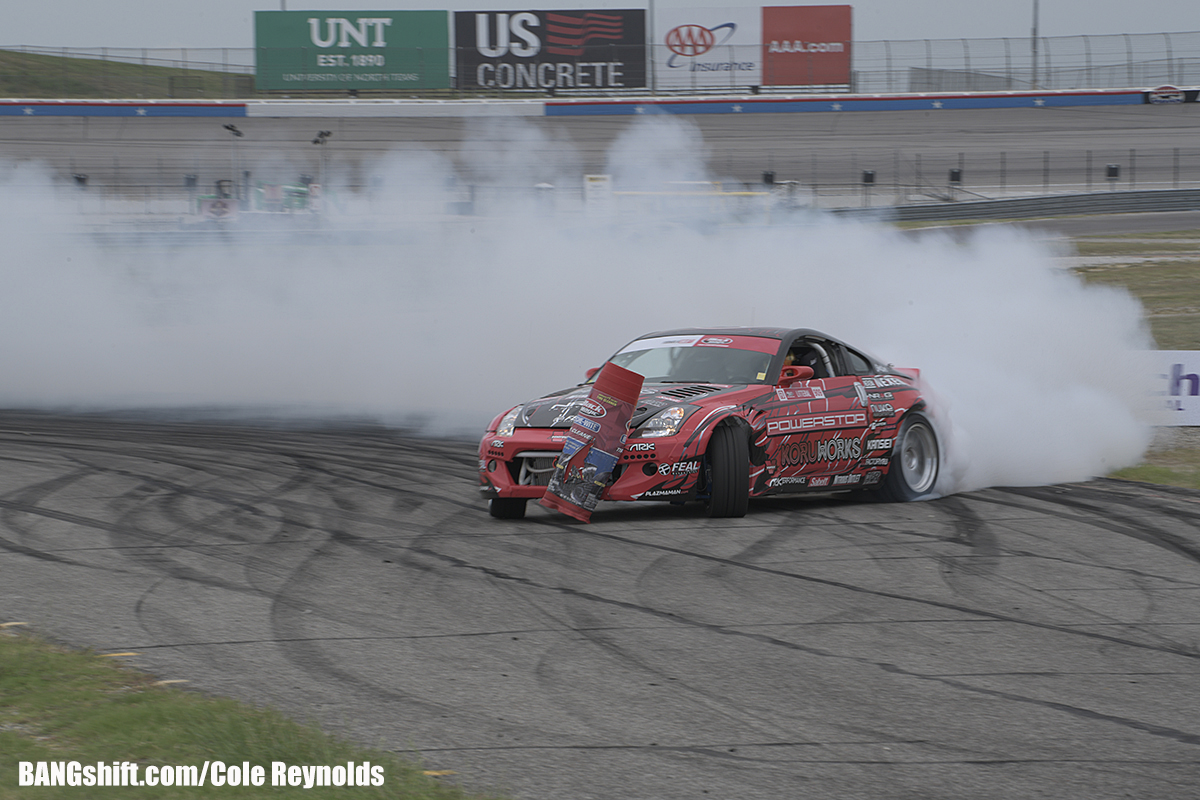 Tire Smoke, Speed, And RPMs: Formula Drift Attacked The Lone Star State And It Was Awesome!