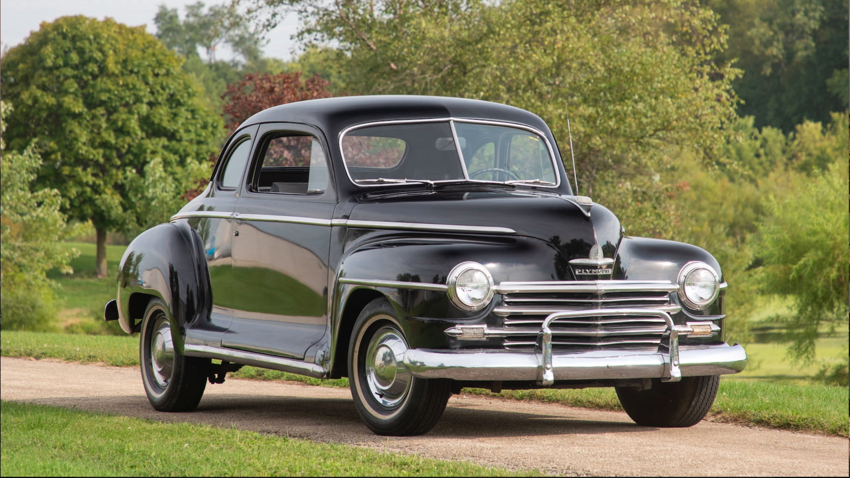 The Little Black Coupe: 1948 Plymouth Special Deluxe