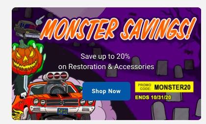 OPGI Has Monster Savings Until October 31 – Use Promo Code MONSTER20 – HURRY!