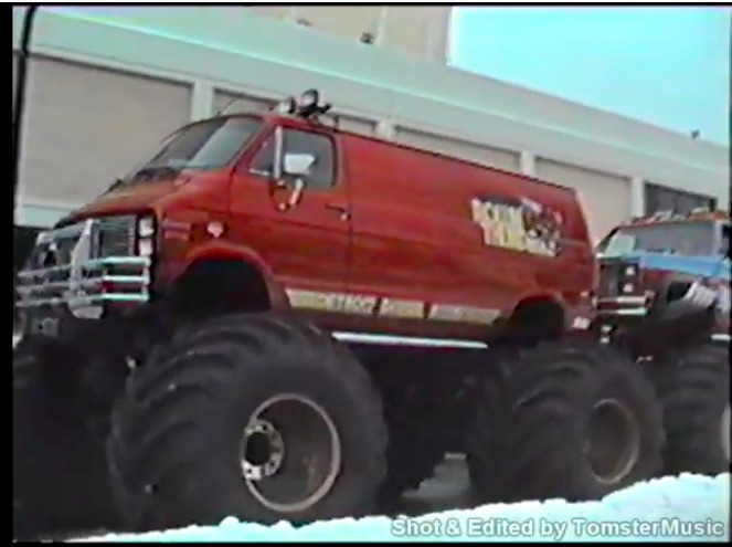 Behind The Scenes Video: This 1980s Look At The Work Of Monster Truck Crews Outside An Arena Is Cool