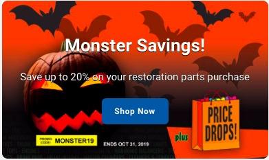 OPGI Has Monster Savings Until October 31 – Use Promo Code MONSTER19 – HURRY!