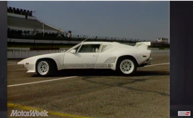 Wait, What? You Could Still Buy A DeTomaso Pantera in 1987 Check Out This GT5-S Video Review!