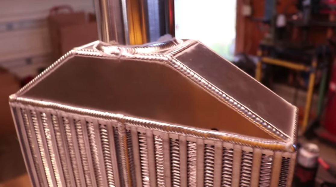 Build An Ultra Clean Intercooler In Less Than 15 Minutes! Skills baby, these are skills.