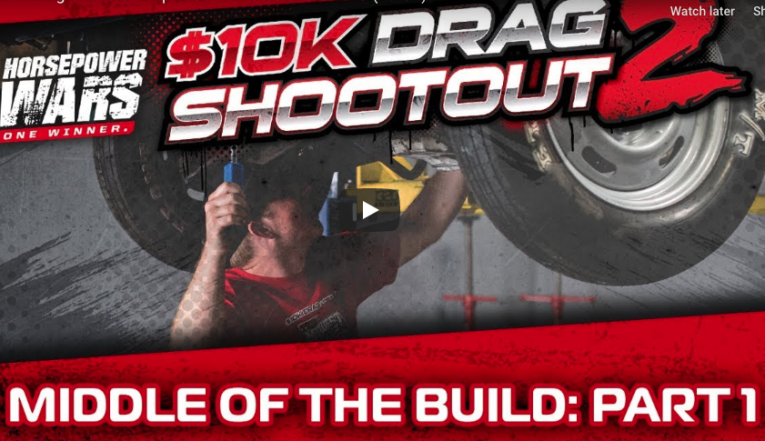 Episode 4 Of The Horsepower Wars $10k Drag Shootout Is On! Builds Are In Full Swing And Burritos SUCK!!!