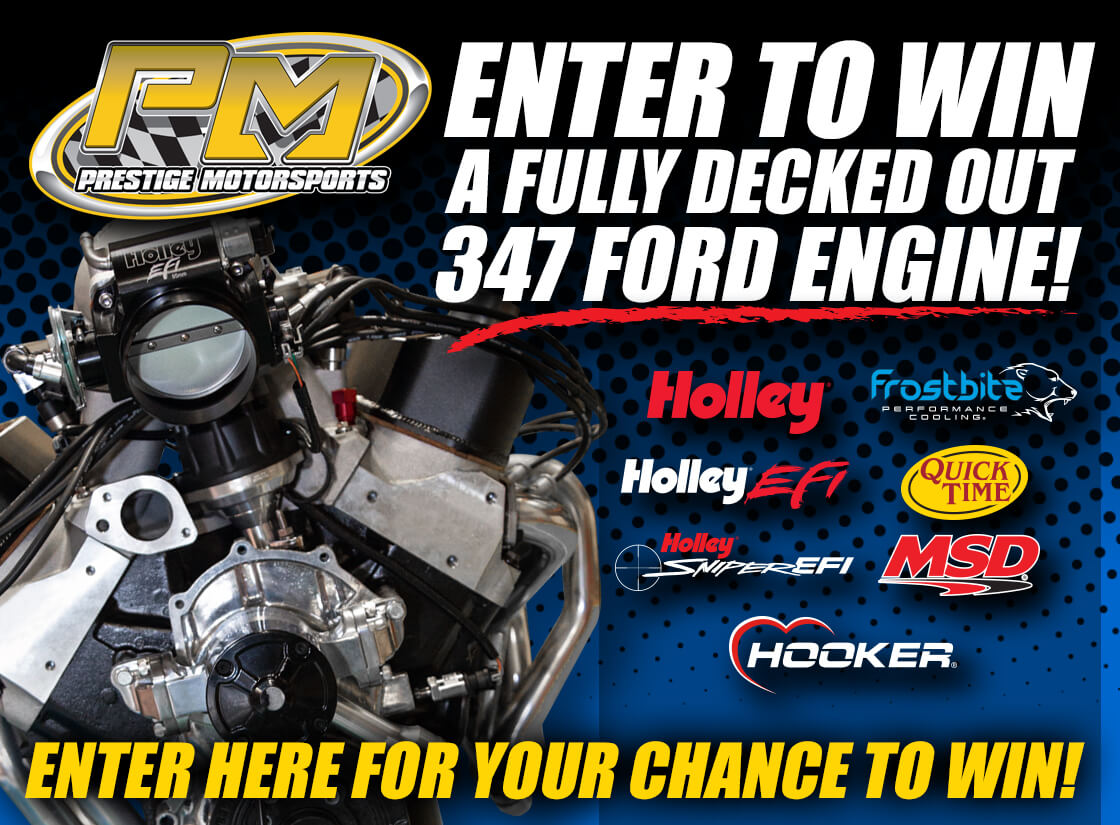 You Can Win This Stroker Small Block Ford From Holley And Prestige Motorsports! Sign Up Now!