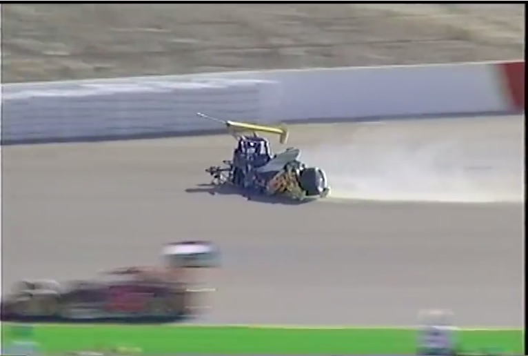 Brutal Crash Video: Watch Rex Beach Pile Up A Supermodified At The Copper World Classic In 1997 – Supermods On The Mile?!