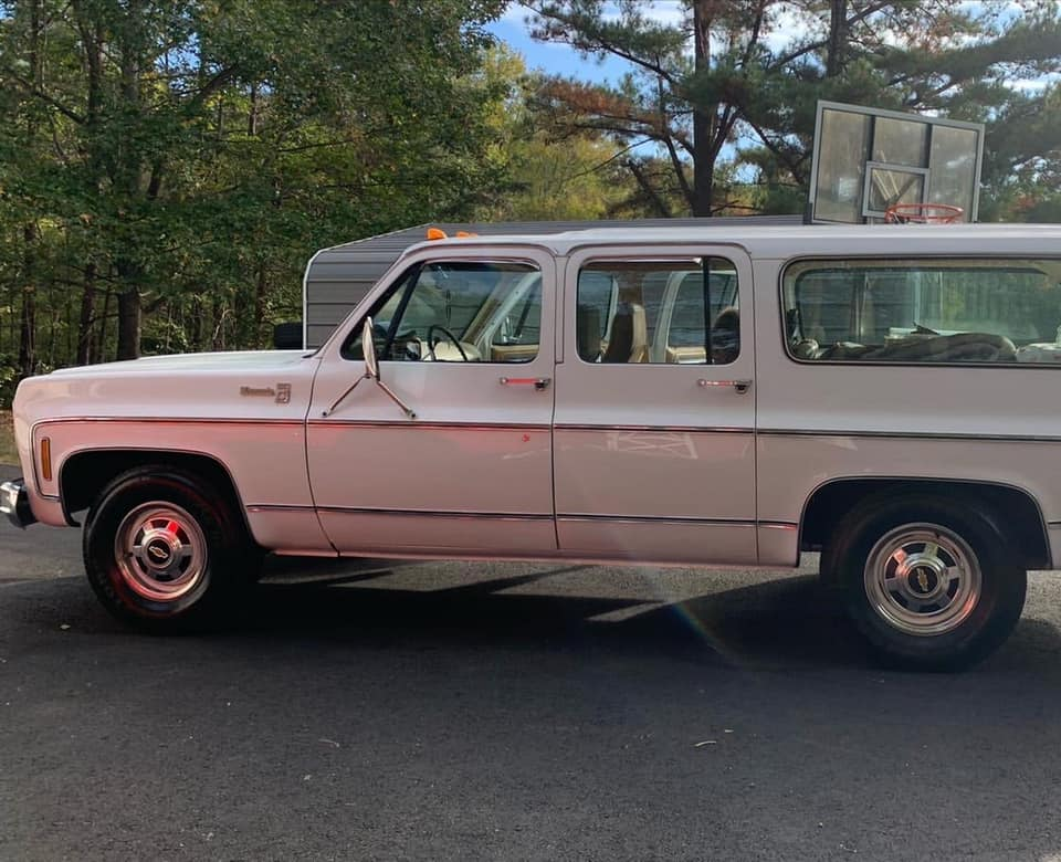 This Big Block Square Body Suburban Is Loaded, In Nearly New Condition, And Is Probably The Nicest One Left On Earth