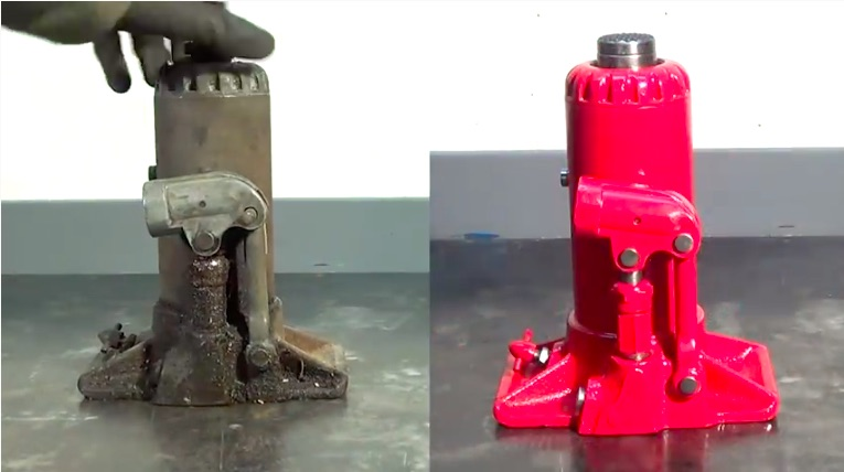 Jack Attack: Restoring A 70-year Old Blackhawk Bottle Jack Is A Satisfying Thing To Watch