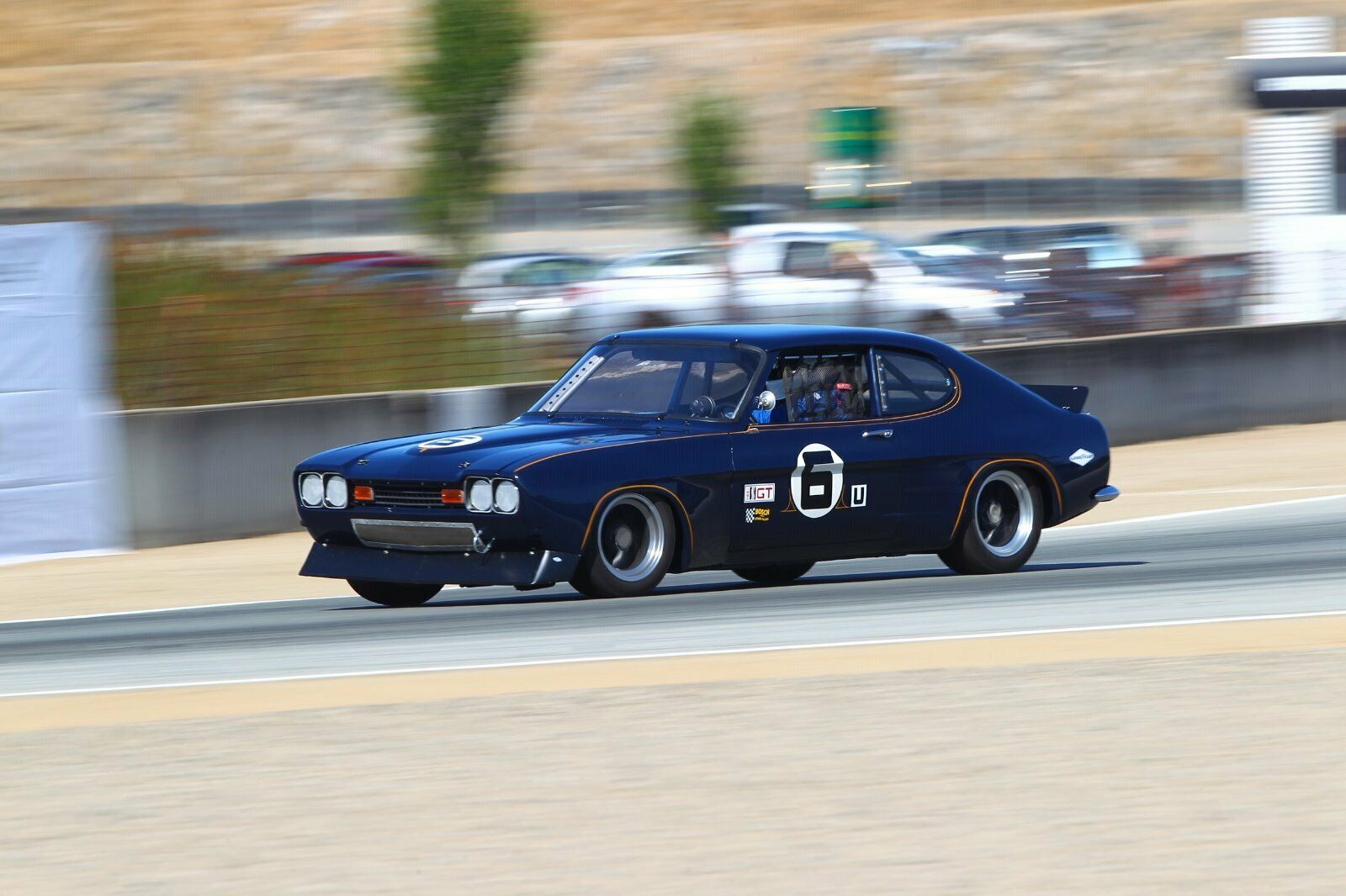 Not A Mustang: This 1973 Ford Capri Road Racer Is Dare To Be Different Heaven!