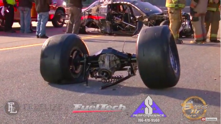 Tough Ride: This Look Back At The Wreck Frank Soldridge Had In His ProLine Powered Mustang At Sweet 16 Is Hardcore